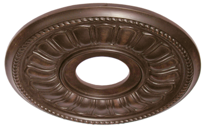 17 inch Ceiling Medallion Oil Rubbed Bronze