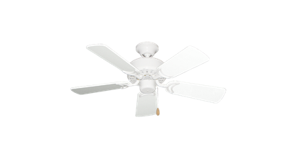 """42"""" Dixie Belle Pure White with 36"""" Pure White Gloss Blades"""