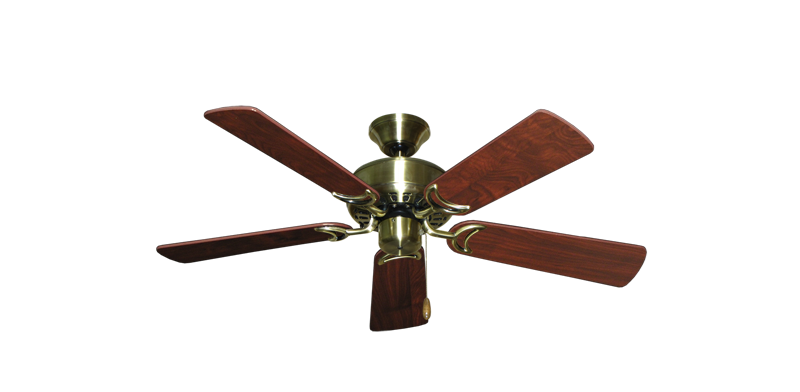 """Picture of 42"""" Dixie Belle Antique Brass with 42"""" Cherrywood Blades"""