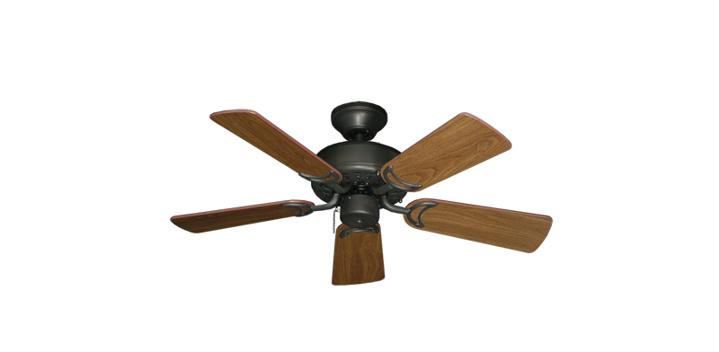 "Picture of 42"" Dixie Belle Oil Rubbed Bronze with 36"" Walnut Blades"