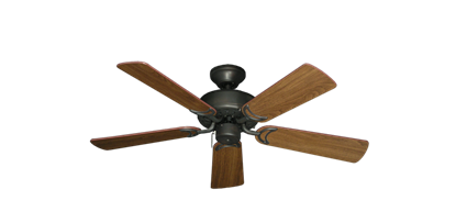 """42"""" Dixie Belle Oil Rubbed Bronze with 42"""" Walnut Blades"""