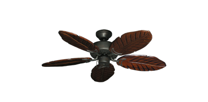"""42"""" Dixie Belle Oil Rubbed Bronze with 42"""" Series 150 Arbor Cherrywood Blades"""
