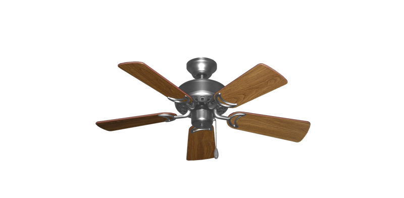 """Picture of 42"""" Dixie Belle Satin Steel with 36"""" Walnut Blades"""