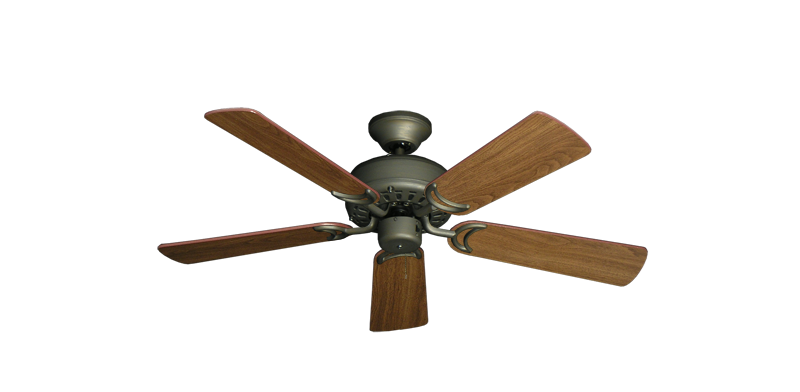"""Picture of 42"""" Dixie Belle Antique Bronze with 42"""" Walnut Blades"""