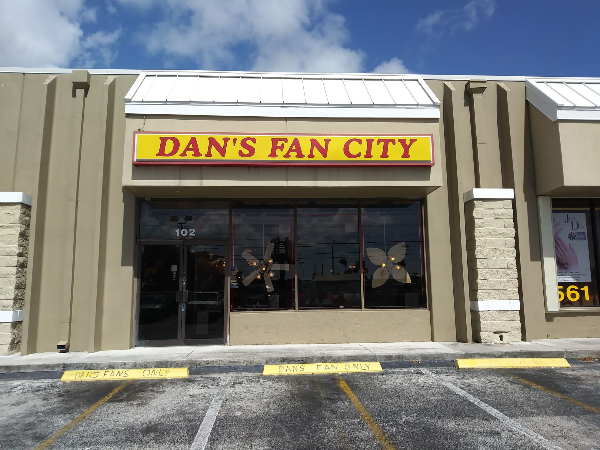 Dans fan city in w palm beach fl