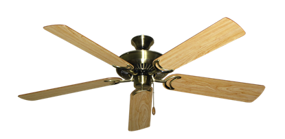 """Picture of Riviera Antique Brass with 56"""" Maple Blades"""