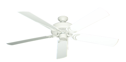 """Picture of Riviera Matte Pure White with 60"""" Outdoor Pure White Blades"""