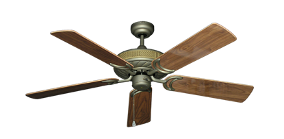 """Picture of Atlantis Antique Bronze with 52"""" Walnut Gloss Blades"""