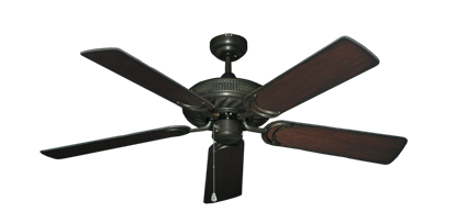 """Picture of Atlantis Oil Rubbed Bronze with 52"""" Distressed Cherry Blades"""