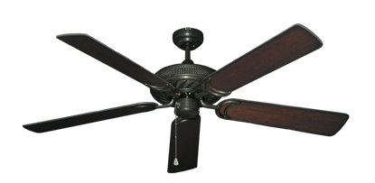 """Picture of Atlantis Oil Rubbed Bronze with 56"""" Distressed Cherry Blades"""