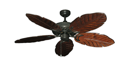 "Picture of Atlantis Oil Rubbed Bronze with 52"" Series 125 Arbor Cherrywood Blades"