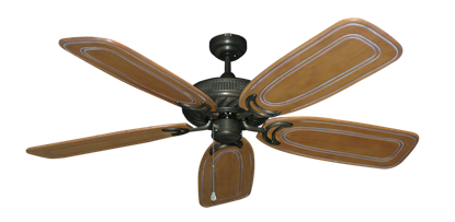 "Picture of Atlantis Oil Rubbed Bronze with 58"" Series 800 Arbor Pecan Blades"