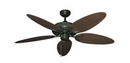 """Picture of Atlantis Oil Rubbed Bronze with 52"""" Outdoor Bamboo Oil Rubbed Bronze Blades"""