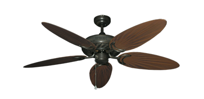 """Picture of Atlantis Oil Rubbed Bronze with 52"""" Outdoor Palm Oil Rubbed Bronze Blades"""