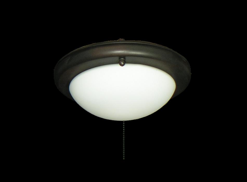 Ceiling Fan Low Profile Light In White Gl 162 Dan S