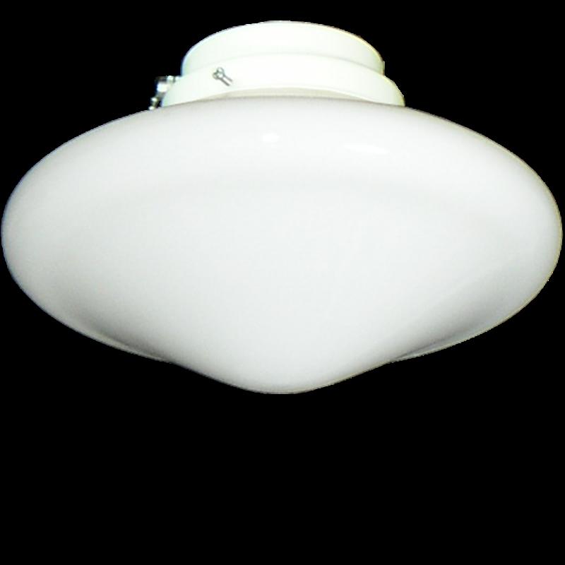 Picture of 113 Low Profile Globe White