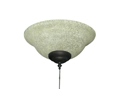 176 Basic Glass Bowl Light in Tea Stone Glass