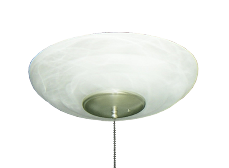 Picture of 171 Large Bowl Light in Pure White Scavo Glass