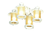 450 Open Base Indoor & Outdoor Lantern Light