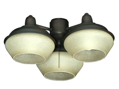 Picture of 372 Indoor & Outdoor Triple Lantern Light in Oil Rubbed Bronze