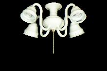 48 4-Light Swan Fitter (Glass Sold Separately)