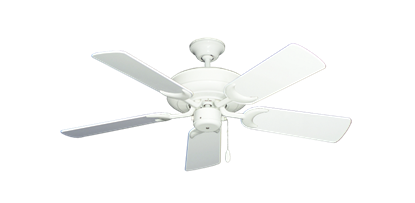 "Picture of Raindance Pure White with 44"" Pure White Gloss Blades"
