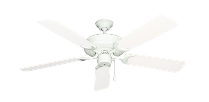 "Picture of Raindance Pure White with 52"" Outdoor Pure White Blades"