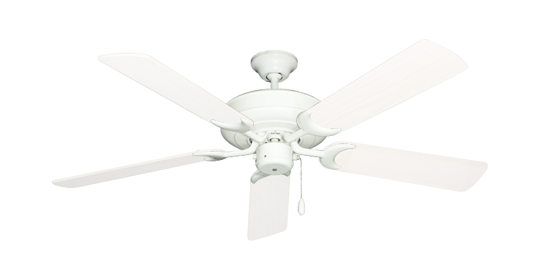 """Picture of Raindance Pure White with 52"""" Outdoor Pure White Blades"""