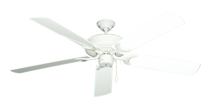 "Picture of Raindance Pure White with 60"" Outdoor Pure White Blades"