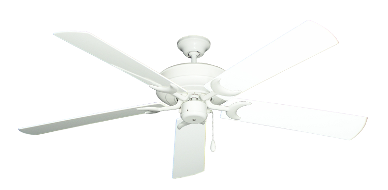 """Picture of Raindance Pure White with 60"""" Outdoor Pure White Blades"""