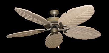 "Picture of Raindance Antique Bronze with 58"" Series 100 Arbor Whitewash Blades"