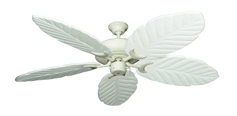 "Picture of Raindance Antique White with 58"" Series 100 Arbor Pure White Blades"