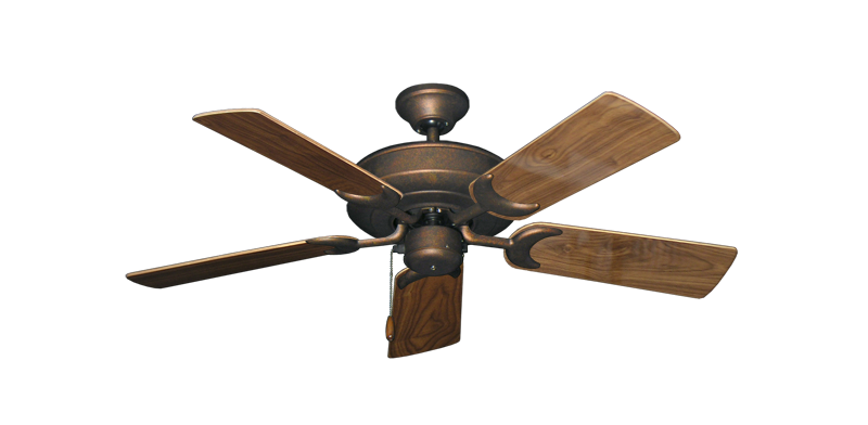 "Picture of Raindance Burnished Copper with 44"" Walnut Gloss Blades"