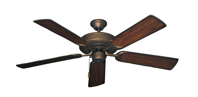 """Picture of Raindance Burnished Copper with 52"""" Burnt Cherry Blades"""