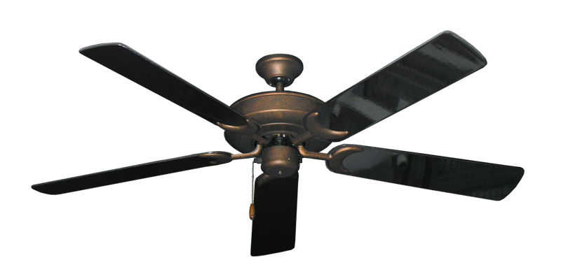 """Picture of Raindance Burnished Copper with 56"""" Black Gloss Blades"""