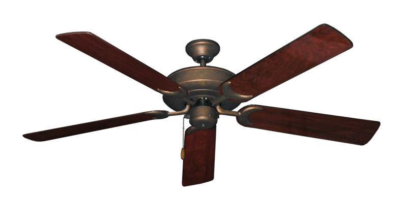 """Picture of Raindance Burnished Copper with 56"""" Cherrywood Gloss Blades"""