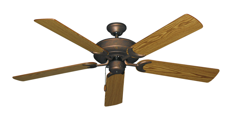 """Picture of Raindance Burnished Copper with 56"""" Oak Blades"""