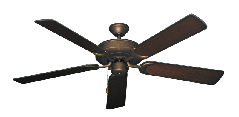 """Picture of Raindance Burnished Copper with 56"""" Distressed Cherry Blades"""