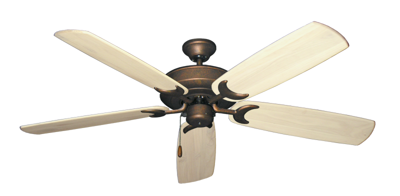 """Picture of Raindance Burnished Copper with 60"""" Series 450 Arbor Whitewash Blades"""