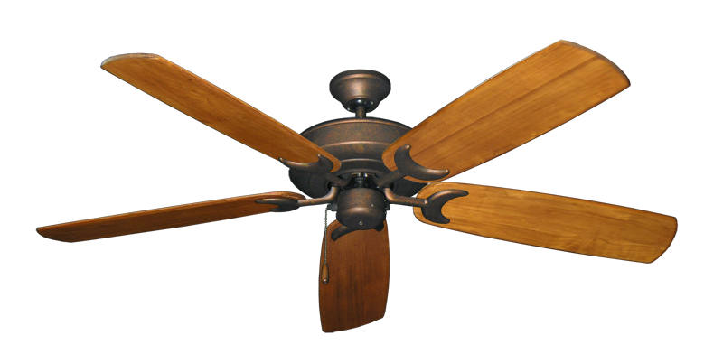 """Picture of Raindance Burnished Copper with 60"""" Series 450 Arbor Oak Blades"""
