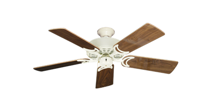 """Picture of Dixie Belle Antique White with 44"""" Walnut Gloss Blades"""