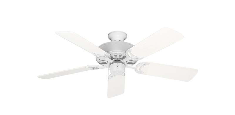 """Picture of Dixie Belle Pure White with 44"""" Outdoor Pure White Blades"""