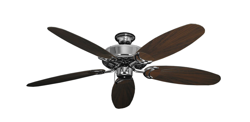 """Picture of Dixie Belle Chrome with 52"""" Outdoor Leaf Oil Rubbed Bronze Blades"""