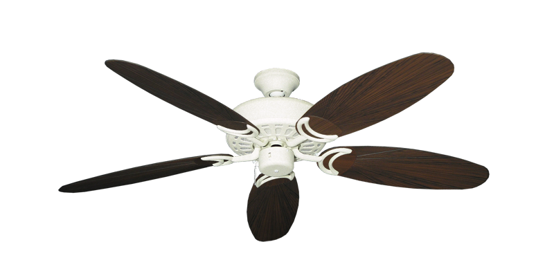 """Picture of Dixie Belle Navajo White with 52"""" Outdoor Leaf Oil Rubbed Bronze Blades"""