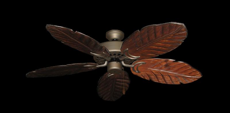 "Dixie Belle Antique Bronze with 52"" Series 125 Arbor Cherrywood Blades"