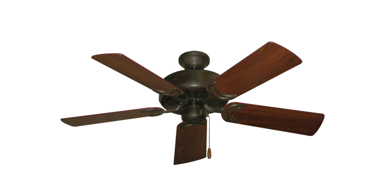 """Picture of Dixie Belle Oil Rubbed Bronze with 44"""" Walnut Blades"""