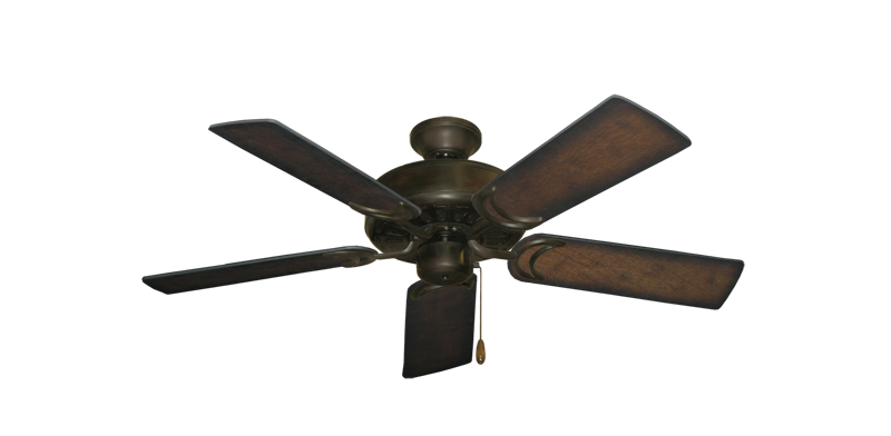 """Picture of Dixie Belle Oil Rubbed Bronze with 44"""" Distressed Hickory Blades"""