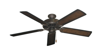 """Picture of Dixie Belle Oil Rubbed Bronze with 52"""" Distressed Hickory Blades"""