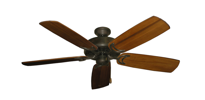 "Picture of Dixie Belle Oil Rubbed Bronze with 52"" Series 425 Arbor Oak Blades"