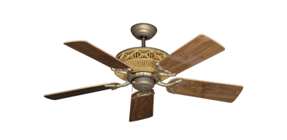 """Picture of Tiki Antique Bronze with 44"""" Walnut Gloss Blades"""